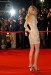 U.S singer Swift arrives at the Cannes festival palace to attend the NRJ Music Awards in Cannes