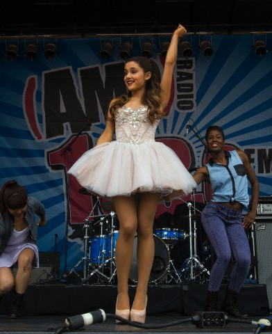 USA - Music - Ariana Grande performs in Boston
